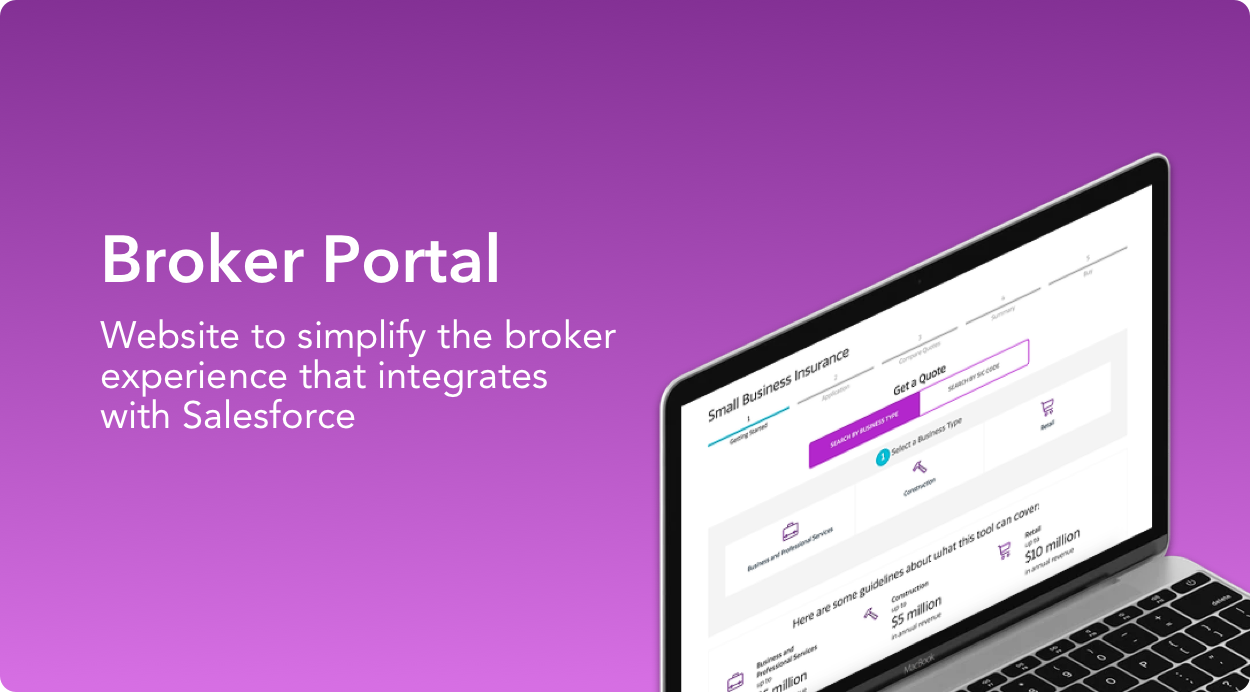 Broker Portal project, a website to simplify the broker experience that integrates with Salesforce.